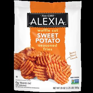 Waffle Cut Sweet Potato Fries