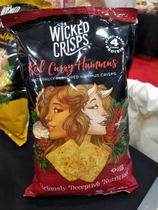 Wicked Crisps Red Curry Hummus