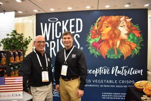 Phil Kosak with Jim Buck at their Expo West 2018 booth