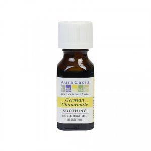 Aura Cacia German Chamomile (in jojoba oil) 0.5 fl. oz.