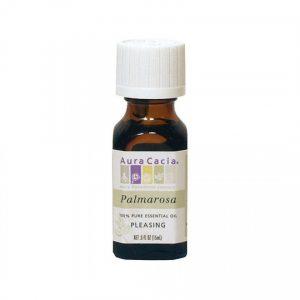 Aura Cacia Palmarosa Essential Oil 0.5 fl. oz.