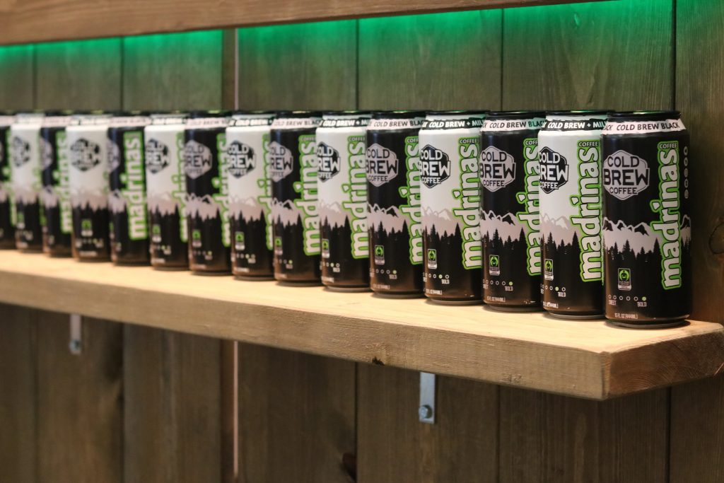Madrinas Cold Brew Coffee Products at Natural Products Expo West 2018