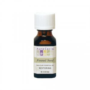 Aura Cacia Fennel Seed Essential Oil 0.5 fl. oz.