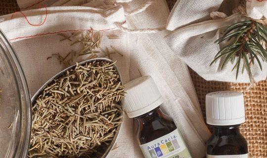 Balsam Fir and Pine Essential Oil Sachets