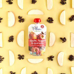 Plum Organics Apple, Quinoa