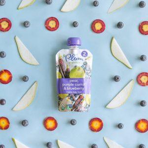 Plum Organics Pear, Blueberry, Carrot