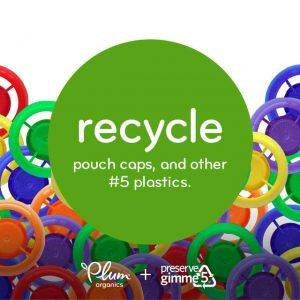 Plum Organics Recycle Caps
