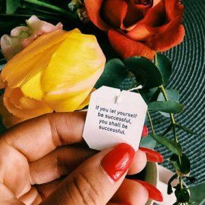 Inspirational Quote from Yogi Tea