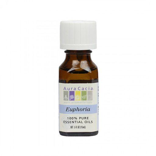 Aura Cacia Euphoria Essential Oil Blend 0.5 fl. oz.