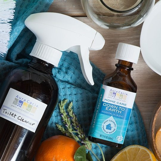Toilet Bowl Cleaner with Down to Earth Essential Oil Blend