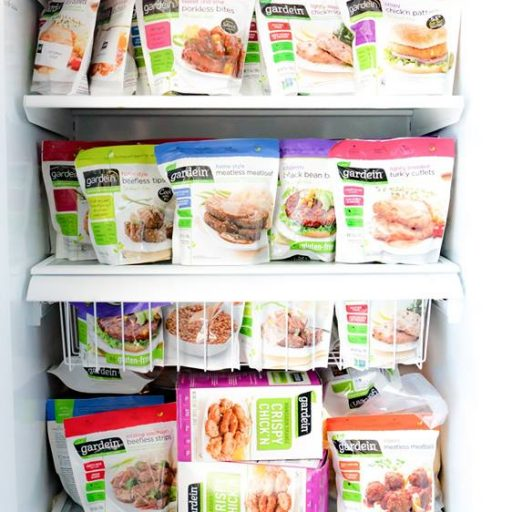 Full Freezer of Gardein