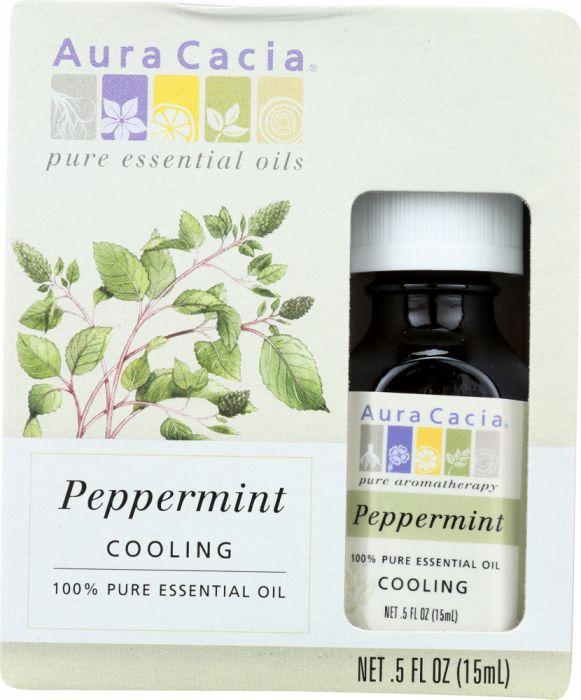 AURA CACIA: 100% Pure Essential Oil Peppermint