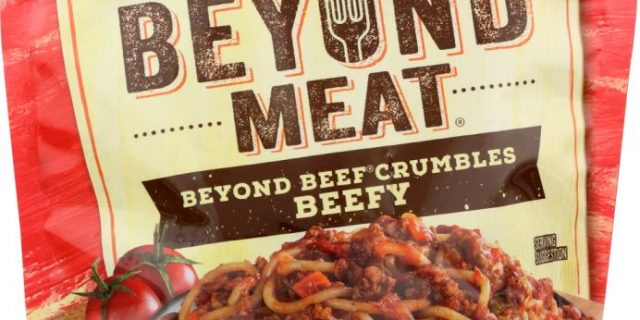 BEYOND MEAT: Meatless Beef Crumbles