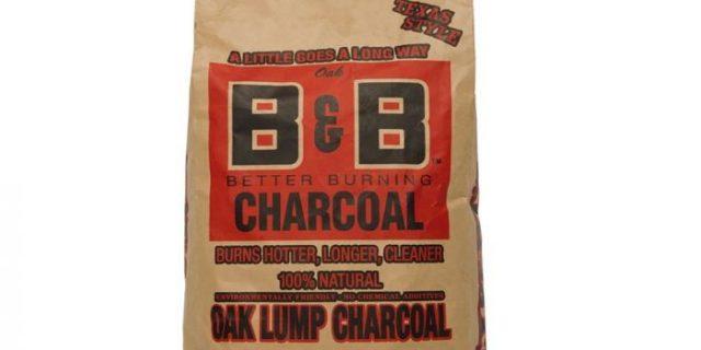 B&B charcoal briquettes