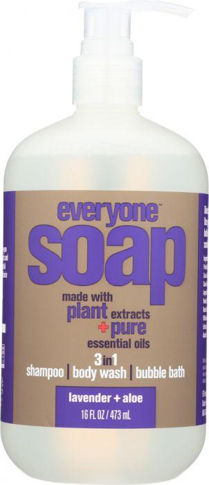 EVERYONE: 3-in-1 Soap Lavender Aloe