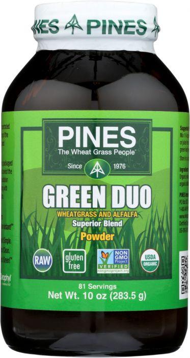 PINES INTERNATINAL: Green Duo Organic Powder