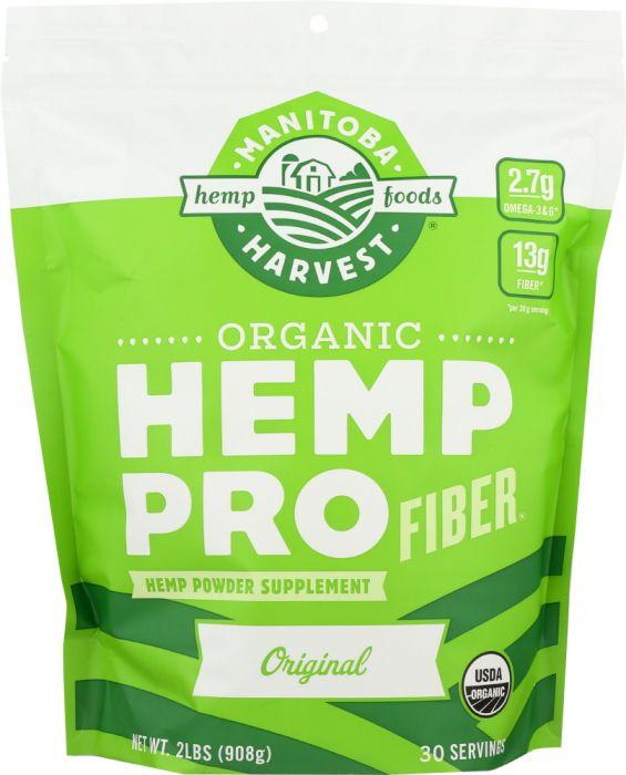 MANITOBA HARVEST: Organic Hemp Pro Fiber