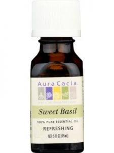 AURA CACIA Essential Oil Basil