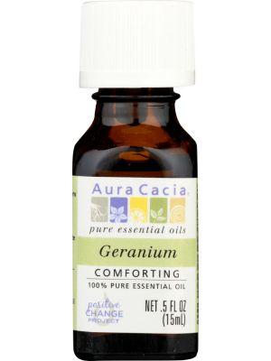 AURA CACIA Pure Essential Oil Geranium