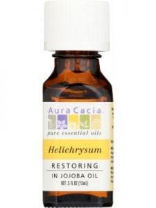 AURA CACIA Pure Essential Oil Restoring Helichrysum in Jojoba Oil
