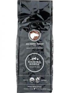 KICKING HORSE COFFEE Horse Power Dark Roast Whole Bean