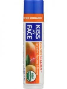KISS MY FACE Lip Balm Ginger Mango
