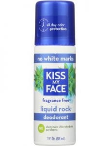 KISS MY FACE Liquid Rock Fragrance Free Roll-On