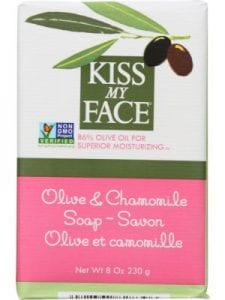 KISS MY FACE Olive Oil And Chamomile Bar Soap