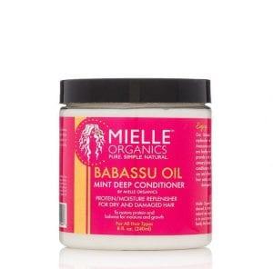 Mielle Babassu Oil Mint Deep Conditioner