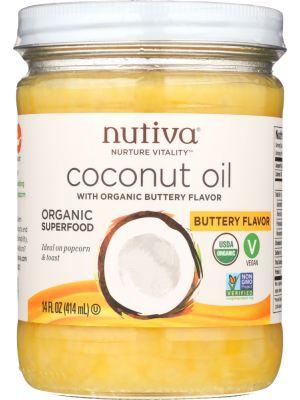 Nutiva Coconut Oil Buttery Flavor