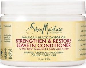 Shea Moisture Stregthen & Restore Leave In Conditioner