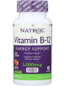 Vitamin B12 Energy Support
