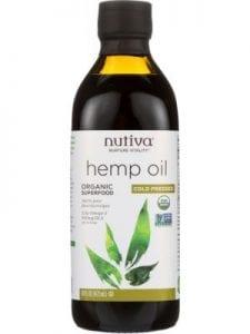 Nutiva Cold Pressed Organic Hemp Oil