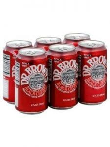 DR BROWNS Black Cherry Soda