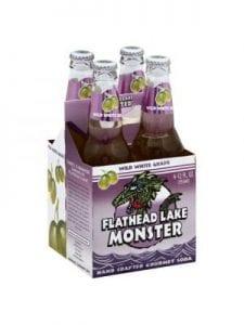 FLATHEAD LAKE GOURMET SODA Soda 4 Pk Wild White Grape