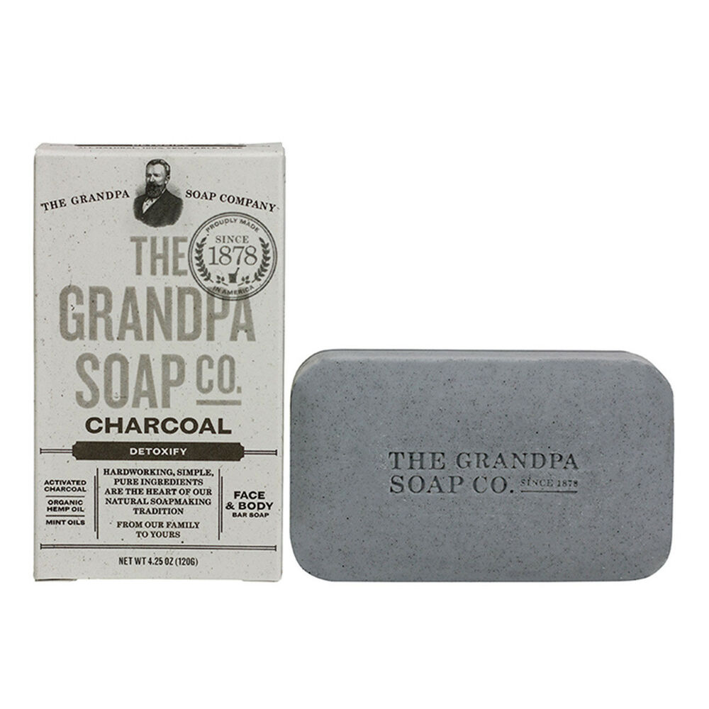 Grandpa's Soap Activated Charcoal