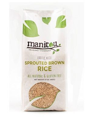 MANITOU Rice Brown Sprouted Gaba