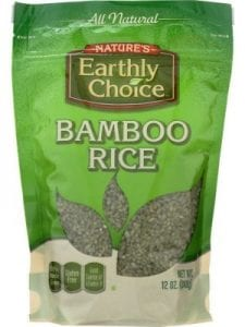 NATURES EARTHLY CHOICE RICE BAMBOO