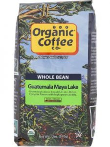 ORGANIC COFFEE CO Coffee Bean Guatemala Organic
