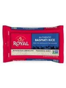 ROYAL Basmati Rice Poly Pillow Pack