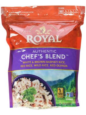 ROYALChefs Blend White & Brown Basmati Rice Red Rice Wild Rice & Red Quinoa,