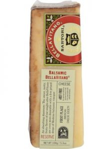 SARTORI RESERVE Cheese WDG Balsamic Bellavitano