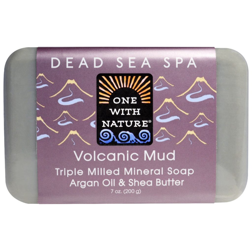 premium natural soap made with volcanic mud
