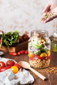 Organic Foods Jar