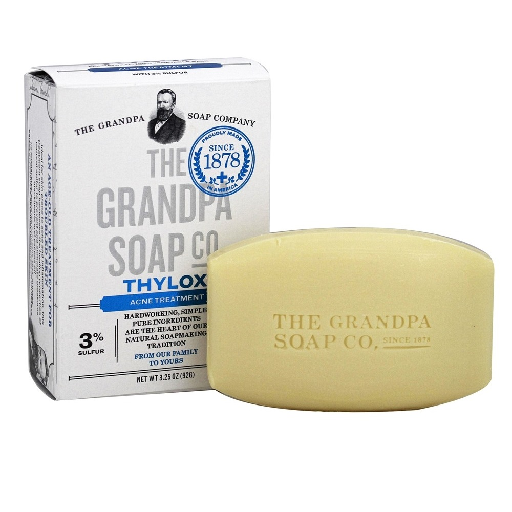 Bar of natural soap made with thylox