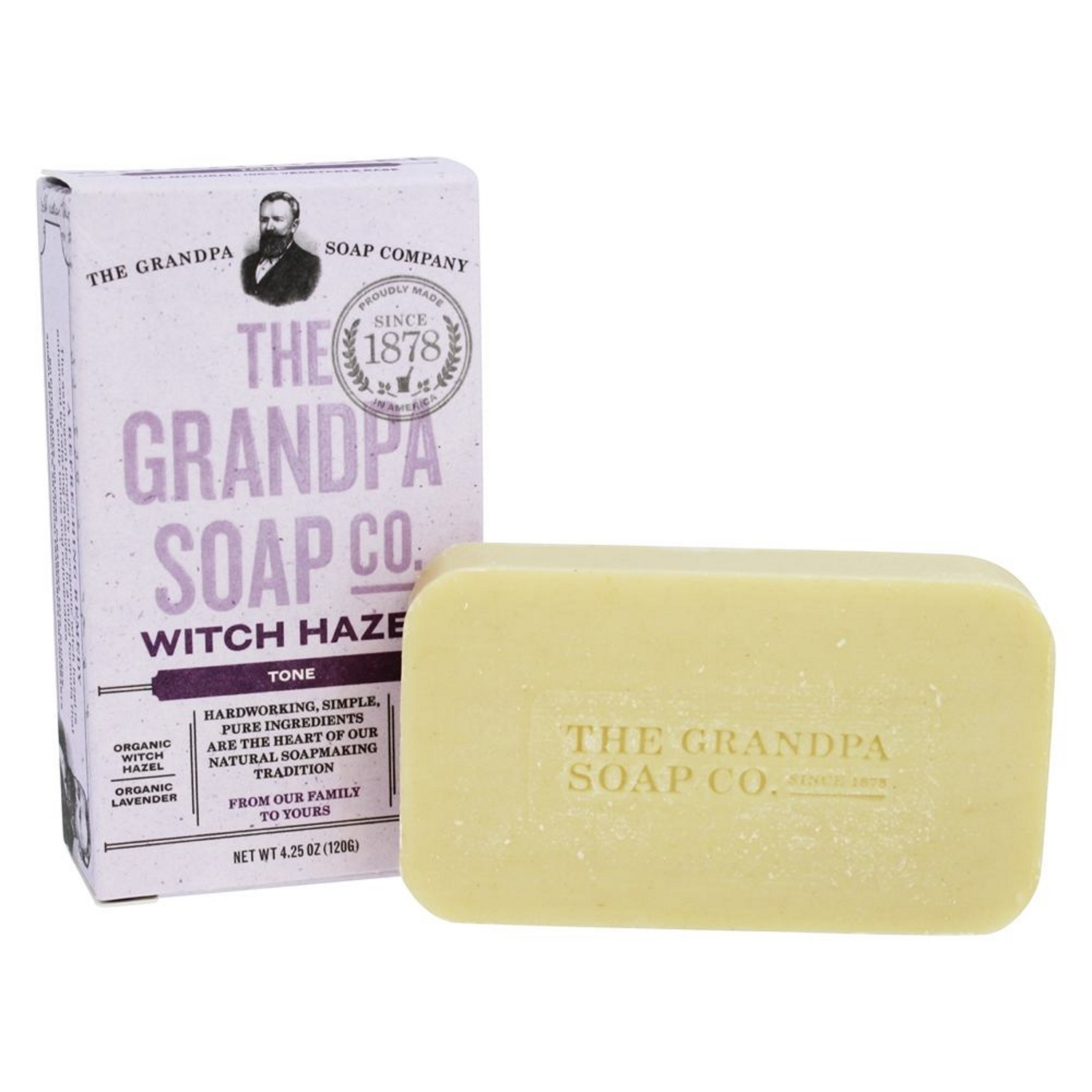 Wholesale soap made with witch hazel
