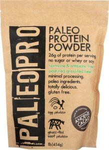 Bag of paleo bulk protein powder