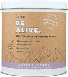 Grass fed dairy protein powder