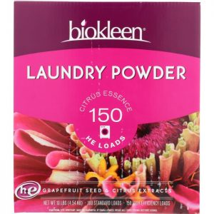 BIO KLEEN Laundry Powder Grapefruit Seed And Citrus Extract