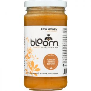 BLOOM HONEY Turmeric Infused Orange Blossom Honey